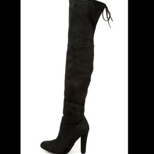 Steve Madden over the knee heeled boots